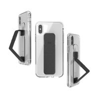 clckr CLEAR GRIPCASE Foundation iPhone XS Clear/Black