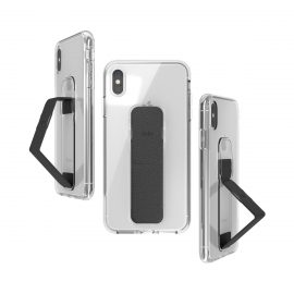 clckr CLEAR GRIPCASE FOUNDATION iPhone XS MaxClear/Black