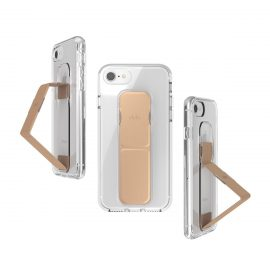 clckr CLEAR GRIPCASE for iPhone 8 CLEAR/ROSE GOLD