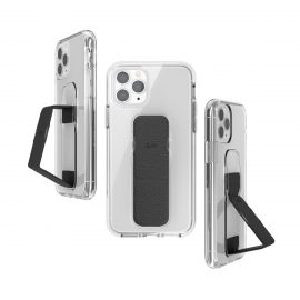 clckr CLEAR GRIPCASE FOUNDATION for iPhone 11 Pro CLEAR/BLACK
