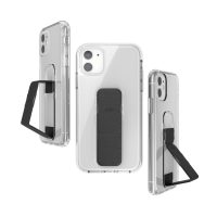 clckr CLEAR GRIPCASE FOUNDATION for iPhone 11 CLEAR/BLACK
