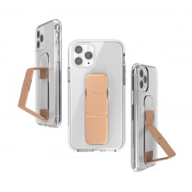 clckr CLEAR GRIPCASE FOUNDATION for iPhone 11 Pro CLEAR/ROSE GOLD COLORED