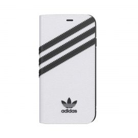 [au+1 Collection Select] adidas Originals BookCase SAMBA iPhone SE(第2世代) White/Black
