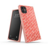 adidas Originals SQUARE CASE FW19 iPhone 11 Ash pearl/Coral