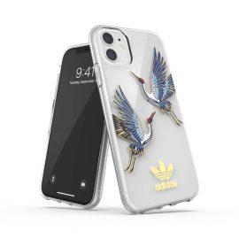 adidas Originals Clear Case CNY iPhone 11 Blue/Gold