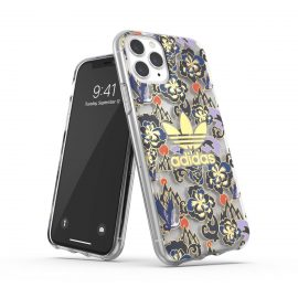 adidas Originals Clear Case CNY AOP iPhone 11 Pro Blue/Gold