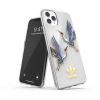 adidas Originals Clear Case CNY iPhone 11 Pro Max Blue/Gold