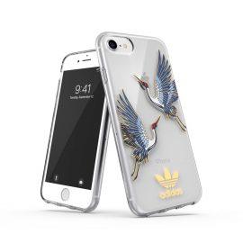 adidas Originals Clear Case CNY iPhone 8 Blue/Gold