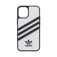 [au+1 Collection Select] adidas Originals SAMBA Case for iPhone 12 mini White/Black