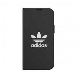 [au+1 Collection Select] adidas Originals iCONIC BookCase for iPhone 12 mini black