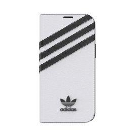 [au+1 Collection Select] adidas Originals SAMBA BookCase for iPhone 12 mini White/Black