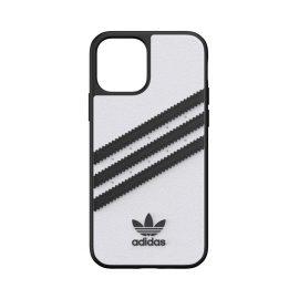 [au+1 Collection Select] adidas Originals SAMBA Case for iPhone 12 White/Black