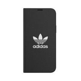 [au+1 Collection Select] adidas Originals iCONIC BookCase for iPhone 12 black