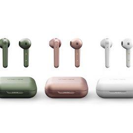 新色Titaniumを含む、 5色のカラーを揃えた完全ワイヤレスイヤフォン 「urbanista STOCKHOLM PLUS」を8月6日より販売開始