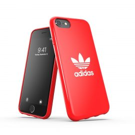 adidas Originals Snap Case Trefoil FW20 iPhone SE(第2世代) Scarlet