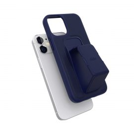 clckr GRIPCASE Saffiano iPhone 12 mini Navy Blue