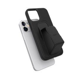 clckr GRIPCASE Saffiano iPhone 12 mini Black