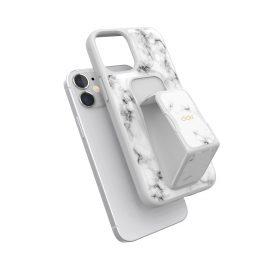 clckr GRIPCASE Marble iPhone 12 mini White Marble