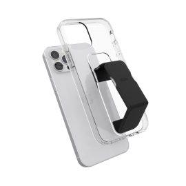 clckr GRIPCASE Clear iPhone 12 / iPhone 12 Pro Clear/Black