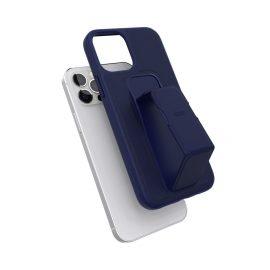 clckr GRIPCASE Saffiano iPhone 12 / iPhone 12 Pro Navy Blue