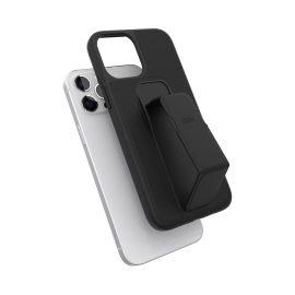 clckr GRIPCASE Saffiano iPhone 12 Pro Max Black