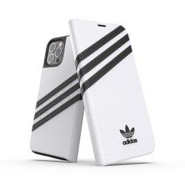 adidas Originals Booklet Case SAMBA FW20 iPhone 12 / iPhone 12 Pro White/Black