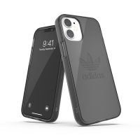 adidas Originals Protective Clear Case FW20 iPhone 12 mini Smokey Black