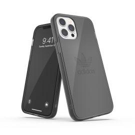 adidas Originals Protective Clear Case FW20 iPhone 12 Pro Max smokey Black