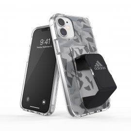 adidas Performance Clear Grip Case FW20 iPhone 12 mini Grey/Black