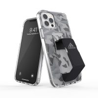 adidas Performance Clear Grip Case FW20 iPhone 12 / iPhone 12 Pro Grey/Black