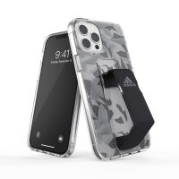 adidas Performance Clear Grip Case FW20 iPhone 12 Pro Max Grey/Black