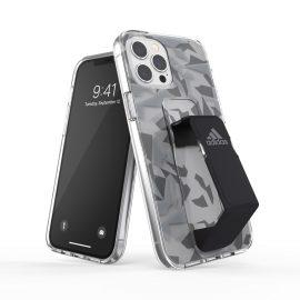 adidas Performance Clear Grip Case FW20 iPhone 12 Pro Max Grey/Black