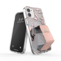 adidas Performance Clear Grip Case FW20 iPhone 12 mini Pink Tint