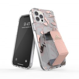 adidas Performance Clear Grip Case FW20 iPhone 12 / iPhone 12 Pro Pink Tint