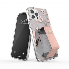 adidas Performance Clear Grip Case FW20 iPhone 12 Pro Max Pink Tint