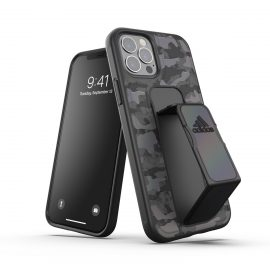 adidas Performance Grip case CAMO FW20 iPhone 12 / iPhone 12 Pro Black