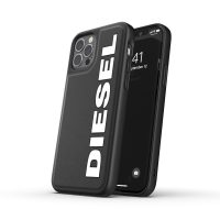 DIESEL Moulded Case Core 1 FW20 iPhone 12 / iPhone 12 Pro Black/White