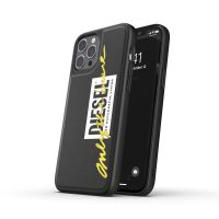 DIESEL Moulded Case Core FW20 iPhone 12 Pro Max Black/Lime