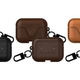 上質なフルグレインレザーで作り上げたAirPods Pro用ケース 「bugatti Venezia AirPods Pro Case」(全3色)を 10月15日に販売開始