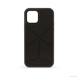 [au+1 Collection Select] PIPETTO Origami SnapCase for iPhone 12 / iPhone 12 Pro Black