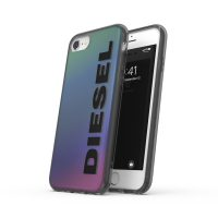 DIESEL Snap Case Clear FW20 iPhone SE(第2世代)Holographic/Black