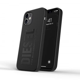 DIESEL Silicone Case SS21 iPhone 12 mini Black