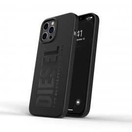 DIESEL Silicone Case SS21 iPhone 12 Pro Max Black