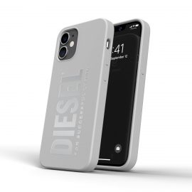 DIESEL Silicone Case SS21 iPhone 12 mini White