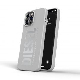 DIESEL Silicone Case SS21 iPhone 12 Pro Max White