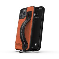 DIESEL Handstrap Case Utility Twill SS21 iPhone 12 Pro Max Black/Orange