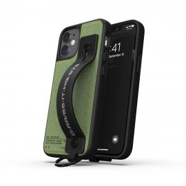 DIESEL Handstrap Case Utility Twill SS21 iPhone 12 mini Black/Green