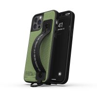 DIESEL Handstrap Case Utility Twill SS21 iPhone 12 / 12 Pro Black/Green