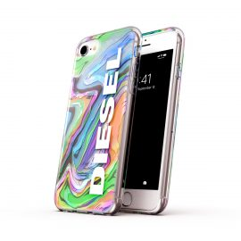 DIESEL Clear Case Digital Holographic SS21 iPhone SE(第2世代)