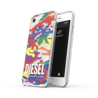 DIESEL +Pride Clear Case SS21 iPhone SE(第2世代) Colorful